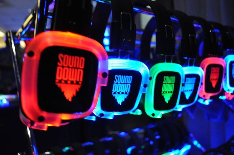 denver silent disco headphone rental