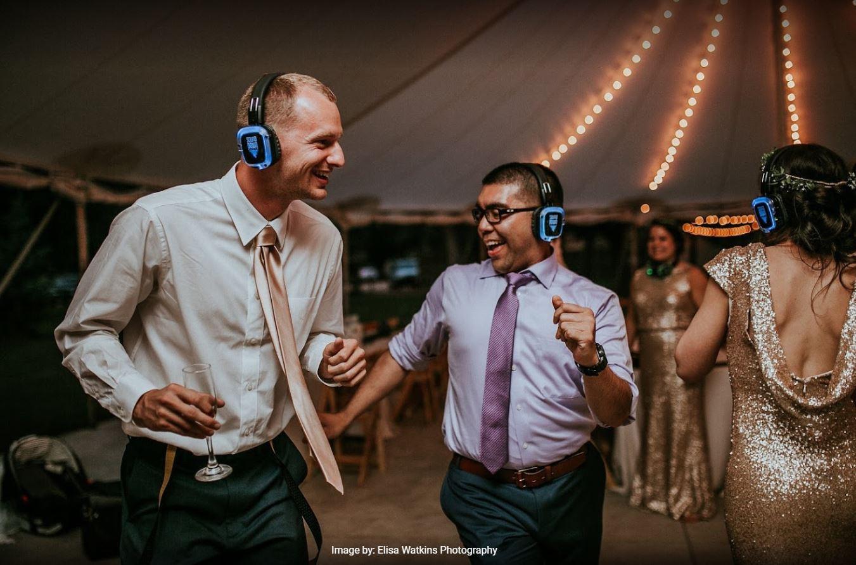 denver silent disco wedding parties sounddown headphones dance